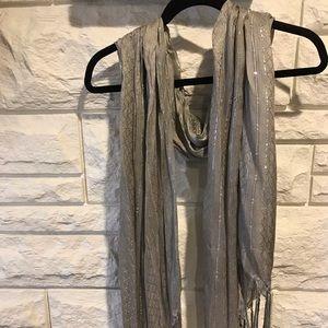 Accessories - Soft Grey Scarf